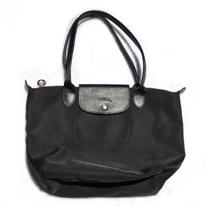 LONGCHAMP Le Pillage Black Tote Shoulder Bag